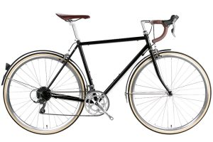 6KU Troy City Bike 16 Speed Del Rey Black