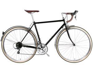 6KU Troy City Bike 16 Speed Del Rey Black