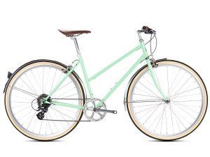 6KU Odessa City Bike 8 Speed Elysian Green