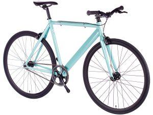 6KU Fixed Gear Track Bike Celeste-629