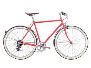 6KU Odyssey City Bike 8 Speed Lincoln Red