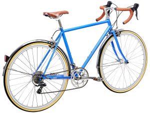 6KU Troy City Bike 16 Speed Windsor Blue-453