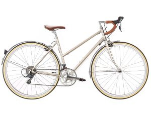 6KU Helen City Bike 16 Speed Champagne