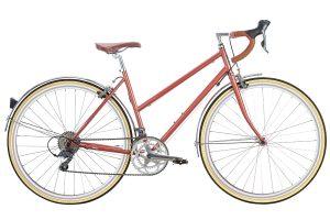 6KU Helen City Bike 16 Speed Rose Gold