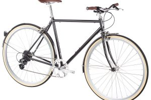 6KU Odyssey City Bike 8 Speed Delano Black-437