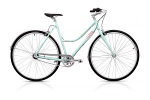 Finna Cycles Breeze City Bike 3 Speed Cupcake