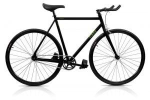Finna Fixed Gear Bike Fastlane Dark Black-0