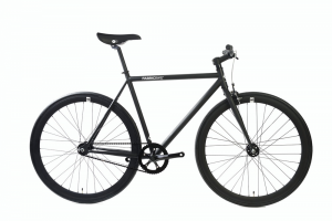 FabricBike Fixed Gear Bike - Fully Matt Black-0