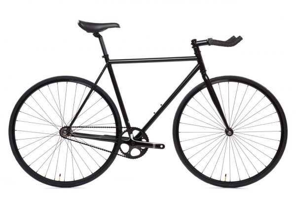 State Bicycle Fixed Gear 4130 Core Line Matte Black 6-0