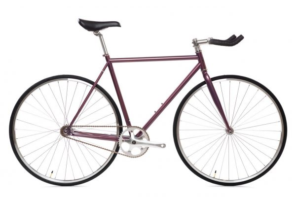 State Bicycle Fixed Gear 4130 Core Line Nightshade Purple-0