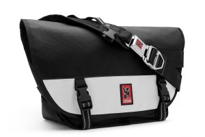 Chrome Industries Mini Metro Messenger Bag Black-White-0