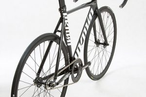 Unknown Bikes Fixed Gear Bike Singularity - Black-4118
