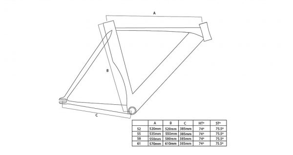 Unknown Bikes Fixed Gear Bike Singularity – Black-4119