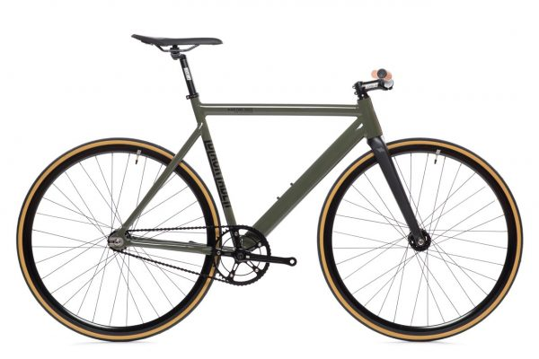 State Bicycle Co Fixed Gear Black Label v2 – Army Green-0