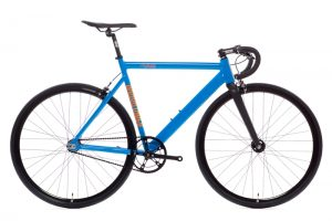 State Bicycle Co Black Label v2 Fixed Gear Bike - Typhoon Blue-6565