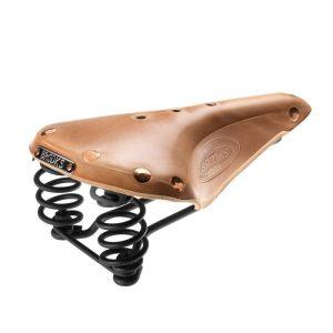 Brooks Flyer Select Saddle - Organic Leather-0