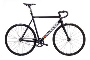 Poloandbike Williamsburg Fixed Gear Bicycle Black-0
