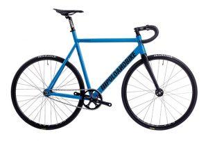 Poloandbike Williamsburg Fixed Gear Bicycle Blue-0