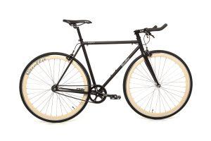 Quella Fixed Gear Bike Nero - Cream-0