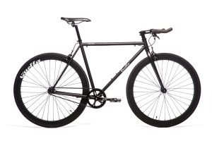 Quella Fixed Gear Bike Nero - Black-0