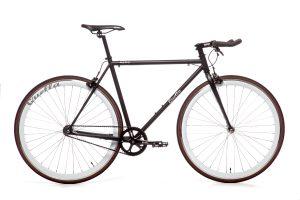 Quella Fixed Gear Bike Nero - White-0