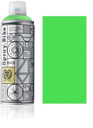 Spray.bike Bicycle Paint Fluorescent Collection - Fluorescent Green-0
