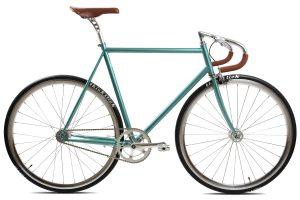 BLB City Classic Fixie & Single-speed Bike - Green-0