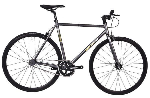 Unknown Bikes Fixed Gear Bike SC-1 – Gray -0