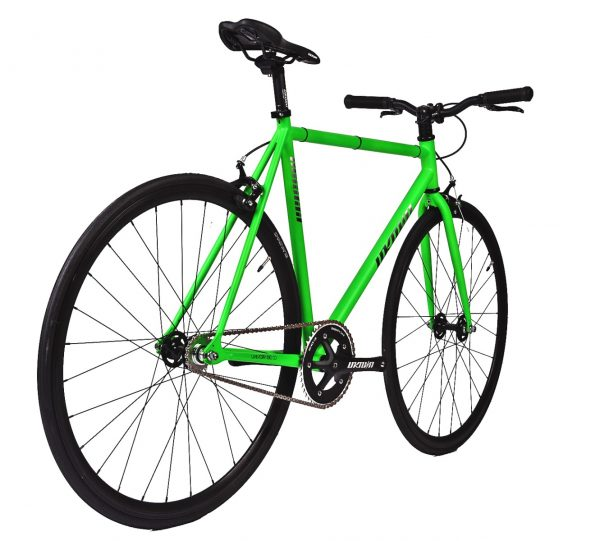 Unknown Bikes Fixed Gear Bike SC-1 – Green -7955