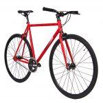 Unknown Bikes Fixed Gear Bike SC-1 – Red -7949