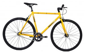 Unknown Bikes Fixed Gear Bike SC-1 - Yellow -0