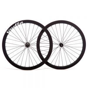 Quella Bikes 40MM Deep-V Wheelset-0