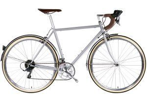 6KU Troy City Bike 16 Speed Highland Grey