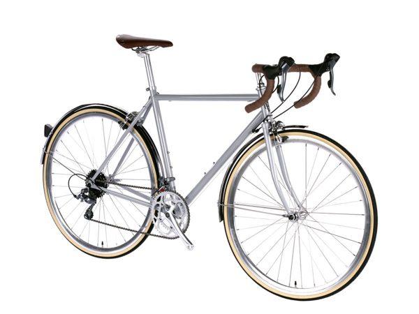 6KU Troy City Bike 16 Speed Highland Grey-449