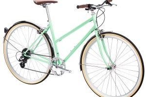 6KU Odessa City Bike 8 Speed Elysian Green-512