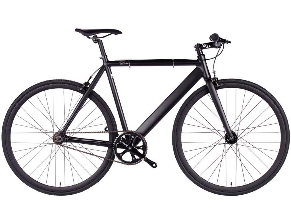 6KU Fixed Gear Track Bike Black