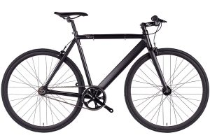 6KU Fixed Gear Track Bike Black