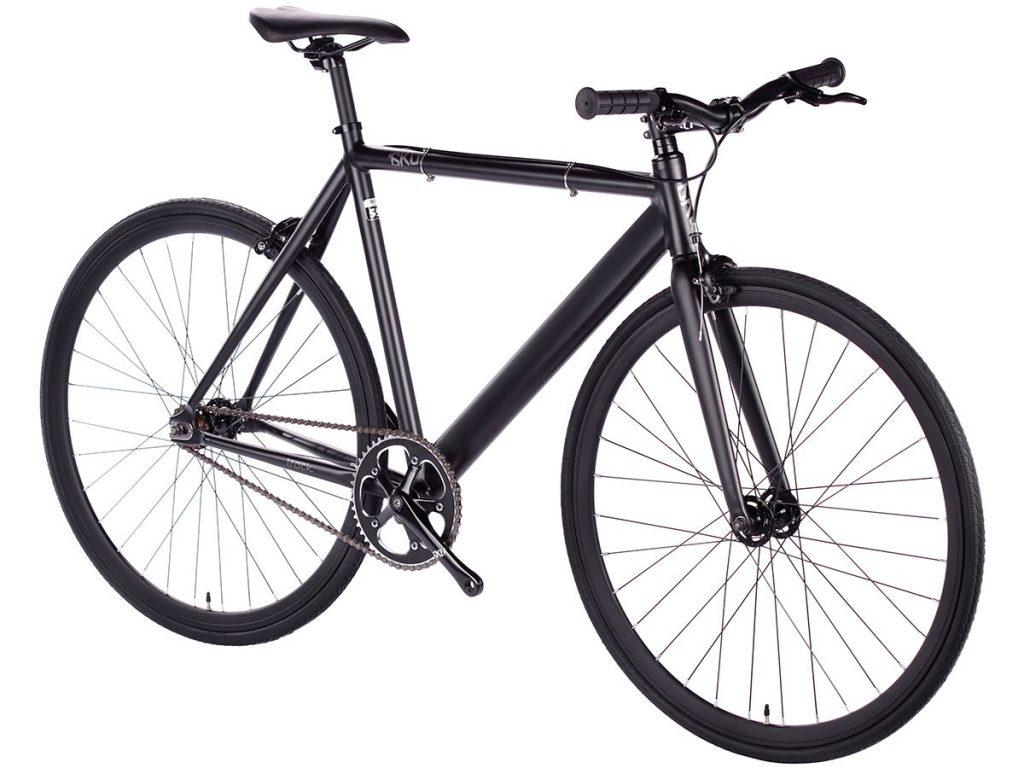 6KU Fixie Fahrrad Track Schwarz-625