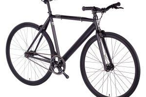6KU Fixed Gear Track Bike Black -625