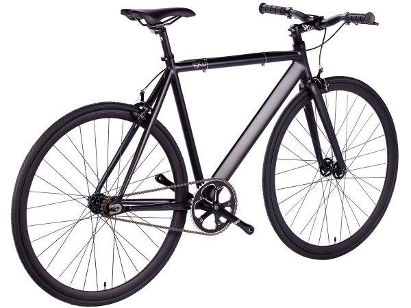 6KU Fixed Gear Track Bike Black -626