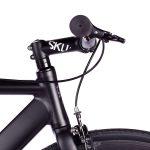 6KU Fixed Gear Track Bike Black -627