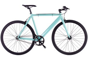 6KU Fixed Gear Track Bike Celeste