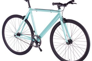 6KU Fixed Gear Track Bike Celeste-629