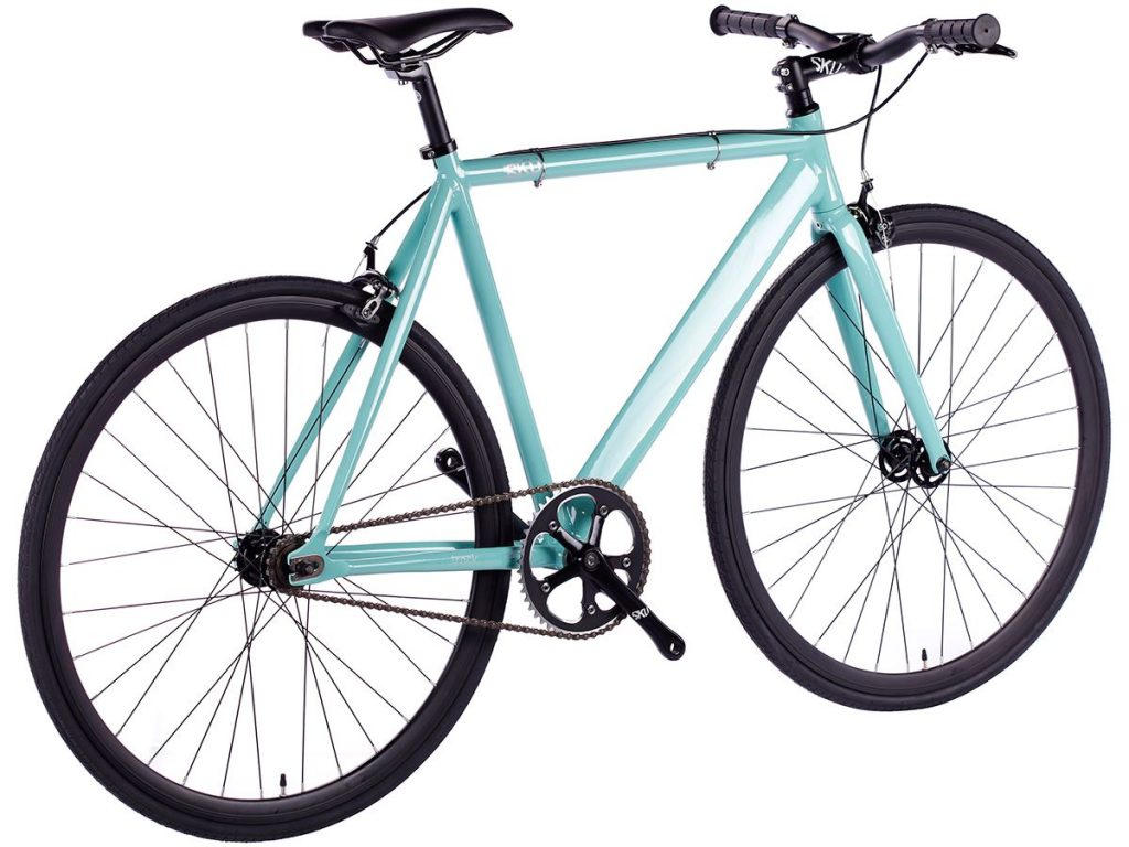 6KU Fixie Fahrrad Track Celeste