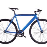 6KU Fixed Gear Track Bike Navy
