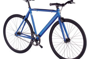 6KU Fixed Gear Track Bike Navy-637