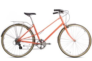 BLB Lola 8 Speed Ladies Bike Apricot