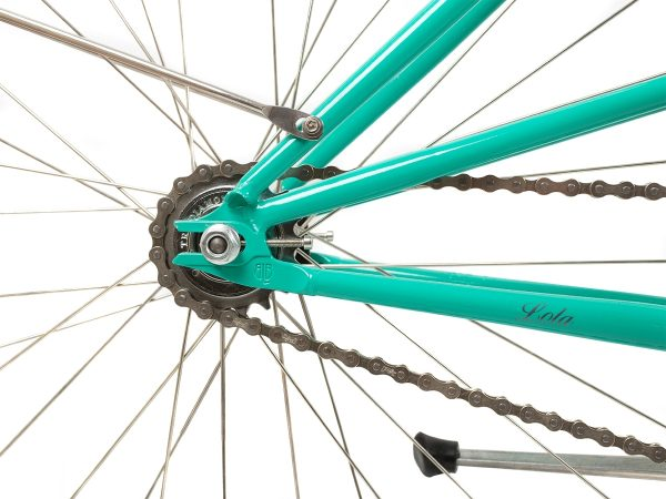 BLB Cleo Single Speed Ladies Bike Emerald-528