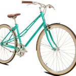 BLB Cleo Single Speed Ladies Bike Emerald-530