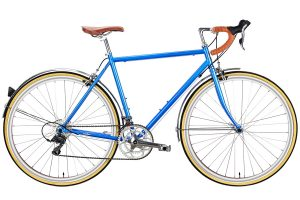 6KU Troy City Bike 16 Speed Windsor Blue